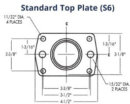 Standard S6 Top Plate